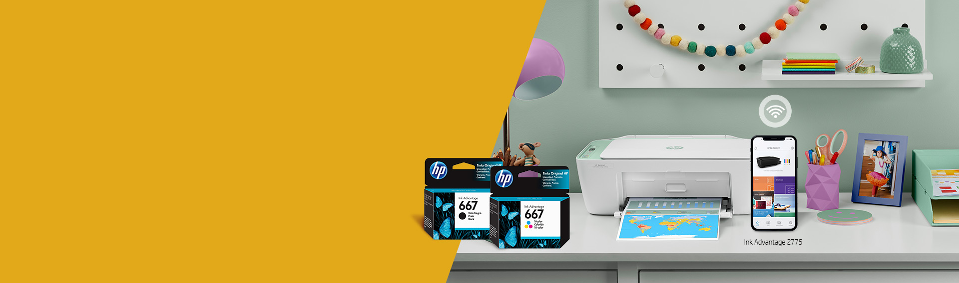 HP INK ADVANTAGE ¡Conectate e imprimí!