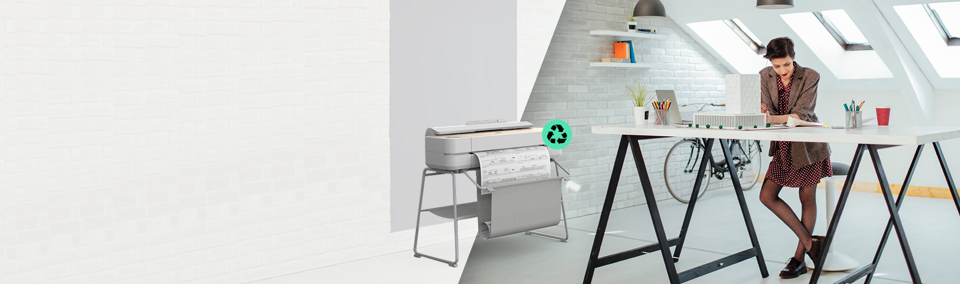 Nueva Serie HP DesignJet. Ahorra hasta $20.000* en los plotters más sustentables**
