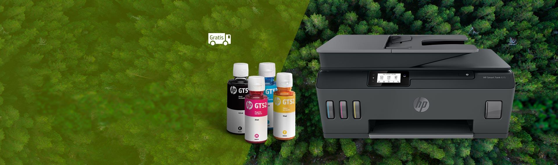 IMPRESORAS HP. Ahorro de consumibles y calidad de impresión a bajo costo.