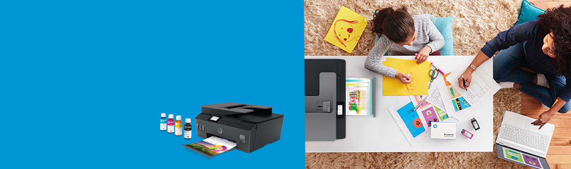 Impresoras HP con Envío Gratis. Preparado. Listo. Imprimí. Experimentá textos nítidos y colores vibrantes.