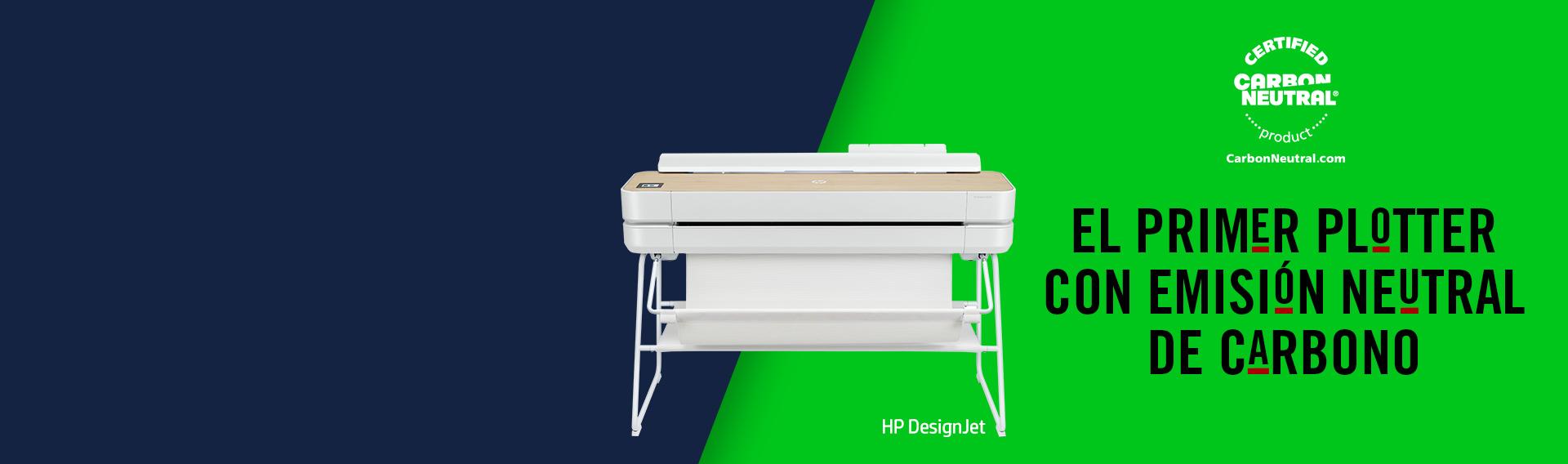 Nueva Serie HP DesignJet, los plotters más sustentables.