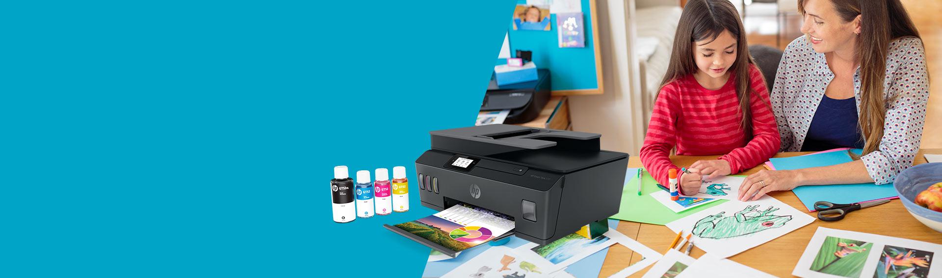 Impresoras HP. Tenemos la impresora perfecta para ti. Textos más nítidos y gráficos con colores vibrantes.