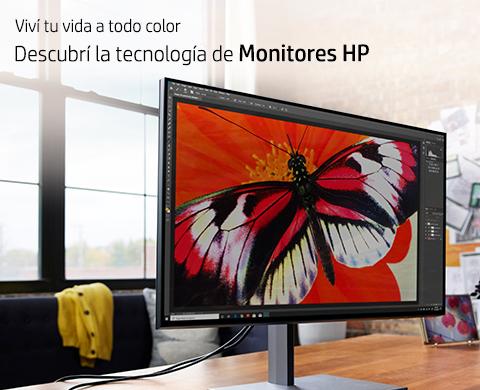 Descubrí la tecnología de Monitores HP.
