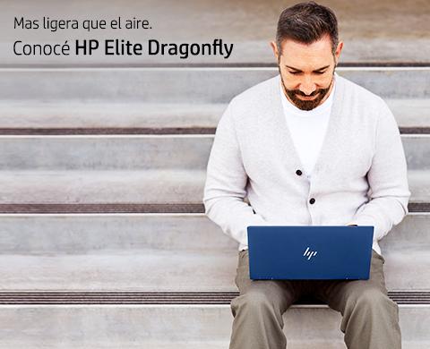 Más ligera que el aire. Conocé HP Elite Dragonfly.