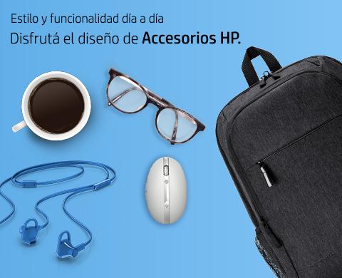 Disfrutá el diseño de Accesorios HP.