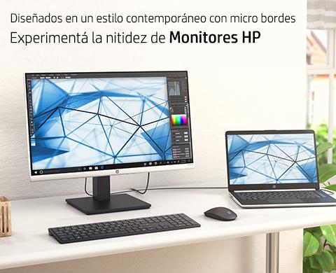 Experimentá la nitidez de Monitores HP