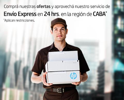 Envío Express en 24 hrs. en la región de CABA*