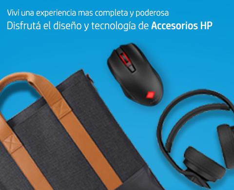 Disfrutá el diseño y tecnología de Accesorios HP.