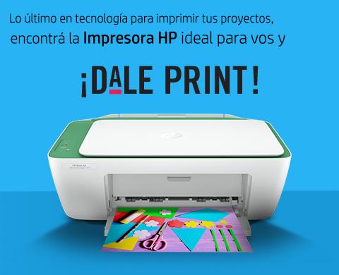 Encontrá la impresora HP ideal para vos.