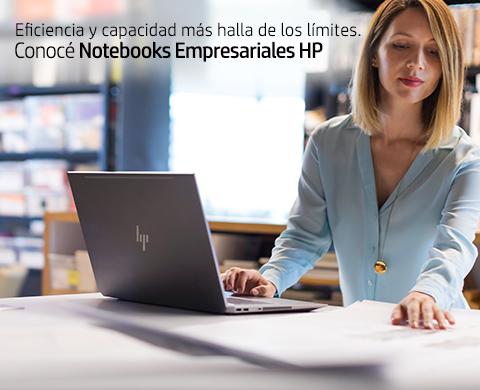 Eficiencia y capacidad más halla de los límites. Conocé Notebooks Empresariales HP.