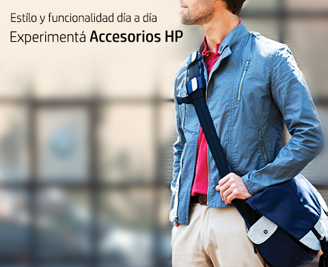 Experimenta Accesorios HP.