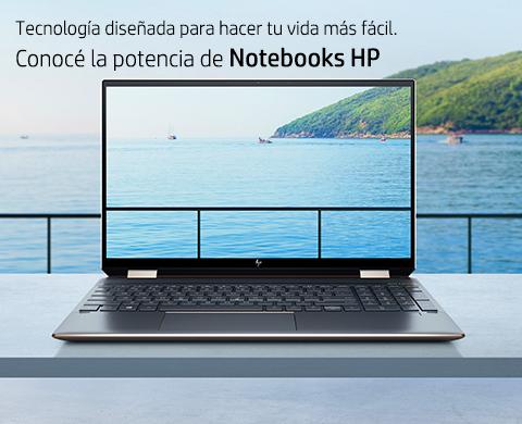 Conocé la potencia de Notebooks HP.