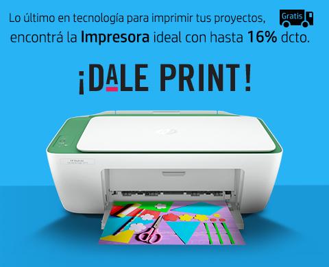 Lo último en tecnología de impresión HP con 16% dcto.
