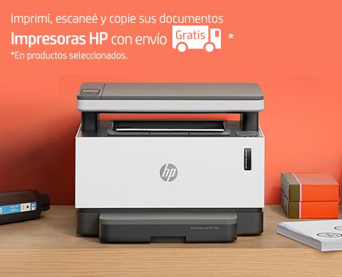 Impresoras HP con envío Gratis en seleccionados.
