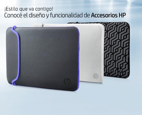 ¡Estilo que va contigo! Conocé el diseño y funcionalidad de Accesorios HP.