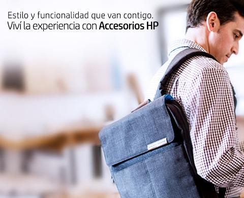 Viví la experiencia con Accesorios HP
