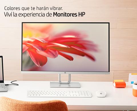 Colores que te harán vibrar. Viví la experiencia de Monitores HP.