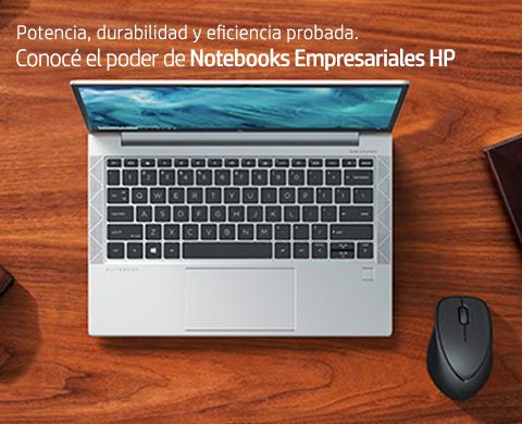 Conocé el poder de Notebooks Empresariales HP.