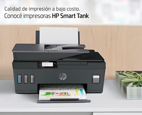 Calidad de impresión a bajo costo. Conocé Impresoras HP Smart Tank.