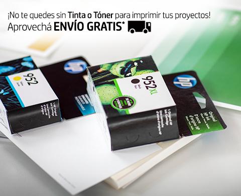 ¡No te quedes sin Tinta o Tóner para imprimir tus proyectos! Aprovechá Envío Gratis*